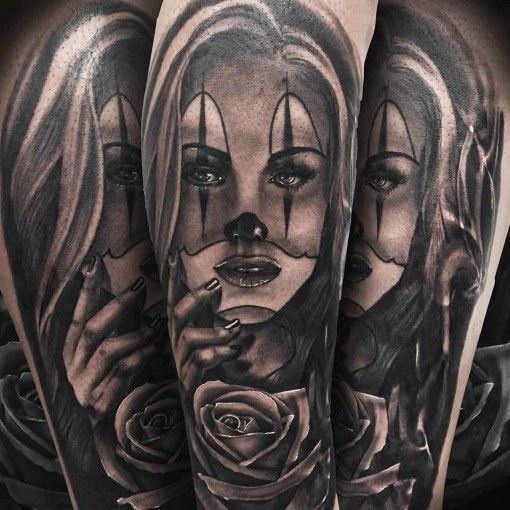 93 best chicano tattoo images on pinterest chicano tattoos female tattoos and tattoo ideas. Black Bedroom Furniture Sets. Home Design Ideas