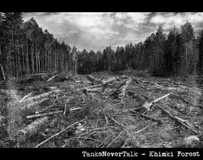New track from TanksNeverTalk  http://soundcloud.com/tanksnevertalk/tanksnevertalk-khimki-forest