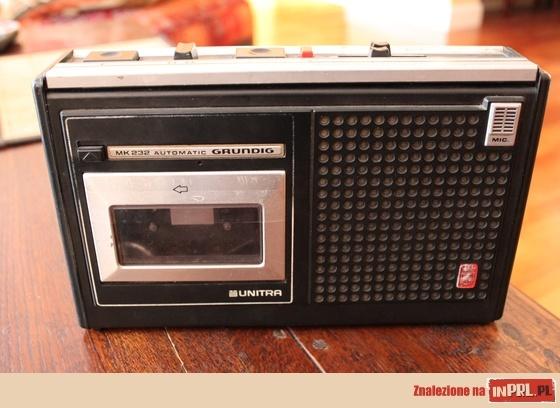 Grundig Unitra - my first tape player