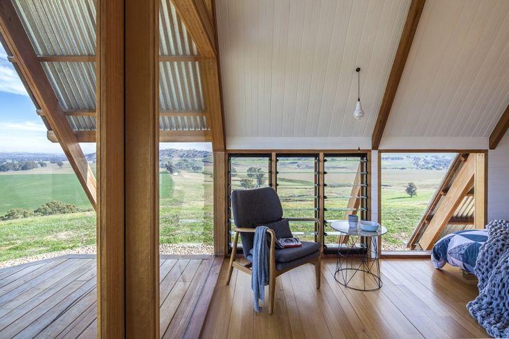 Eco Hut Gundagai Australia - Kimo Estate's Unique Glamping hut is a unique accommodation experience