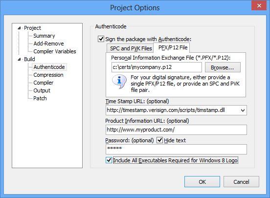 InstallAware Windows Installer - Logo Certifiable Setups