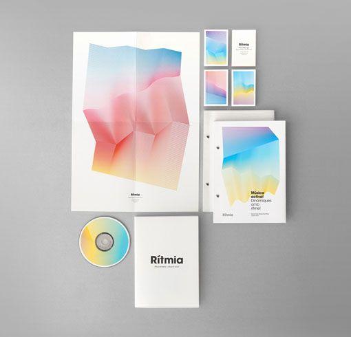 Atipus: Rítmia Identity: Visual Identity, Identity Branding, Music Therapy, Corporate Identity, Graphicdesign, Graphics Design, Identity Design, Branding Identity, Design Studios