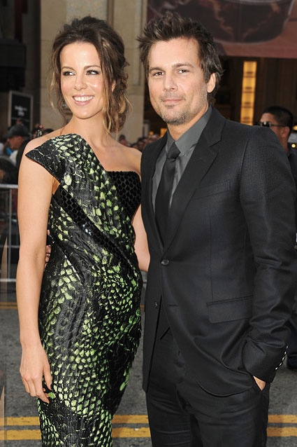 Kate Beckinsale & Len Wiseman    Since meeting on the set of 2003's Underworld, the couple have gone on to make two more movies together -- the 2006 sequel and 2012's Total Recall reboot.