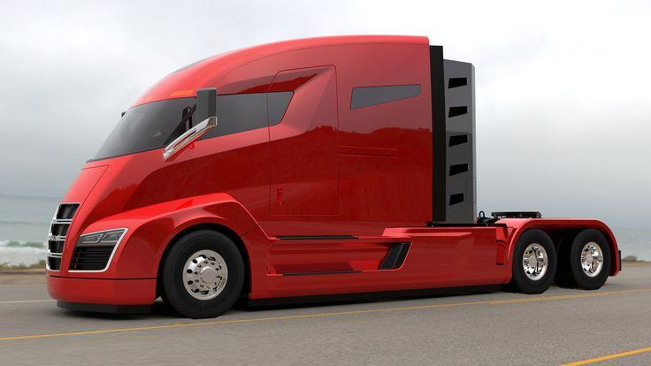 Nikola One, el camión del futuro de Tesla @alvarodabril