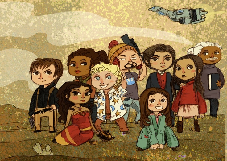 (Firefly characters) Space Cowboys by thegorgonist
