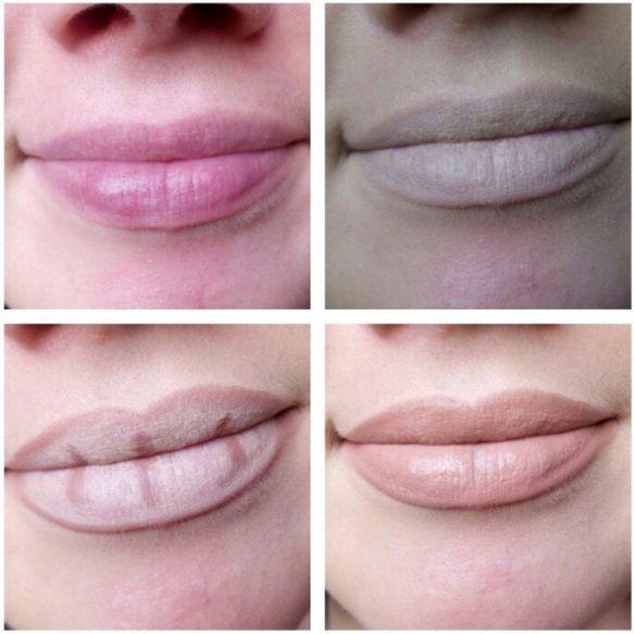 как сделать контуринг губ фото