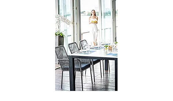 Home Islands Gartentisch Glas Betonoptik Panay 220 Cm Amazon De Kuche Haushalt Gartentisch Betonoptik Tisch