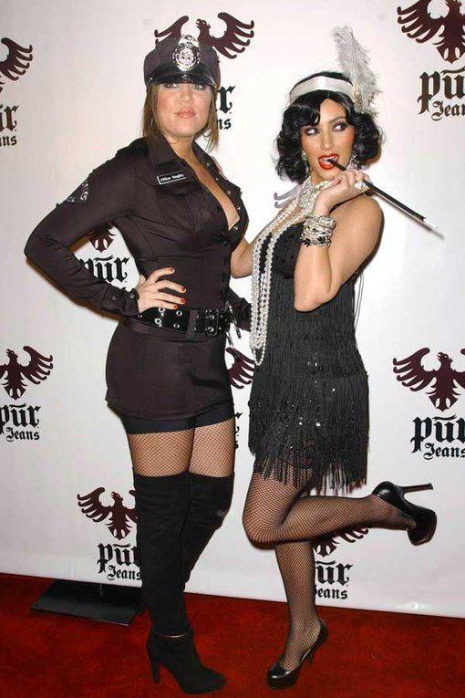 Costumes d'Halloween : Khloe et Kim Kardashian