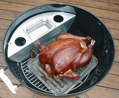 How to turn your Weber charcoal grill into a smoker