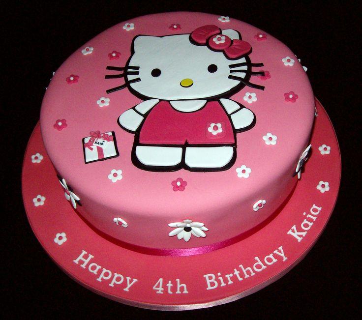 Pink Hello Kitty Cake