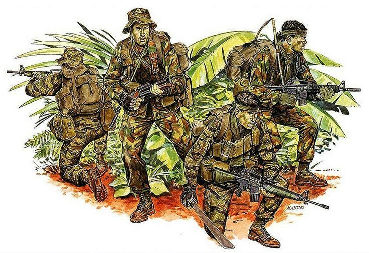 Evtl. Tiger force Vietnam Volstad's works