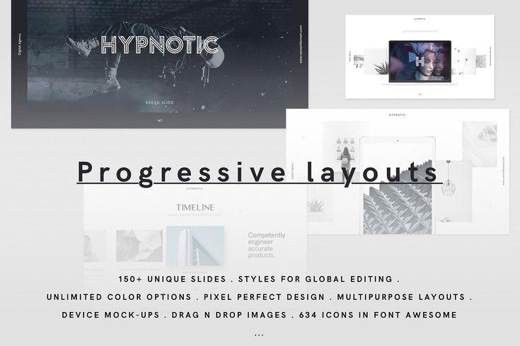 HYPNOTIC Presentation Builder / GIFT by GoaShape on @creativemarket
