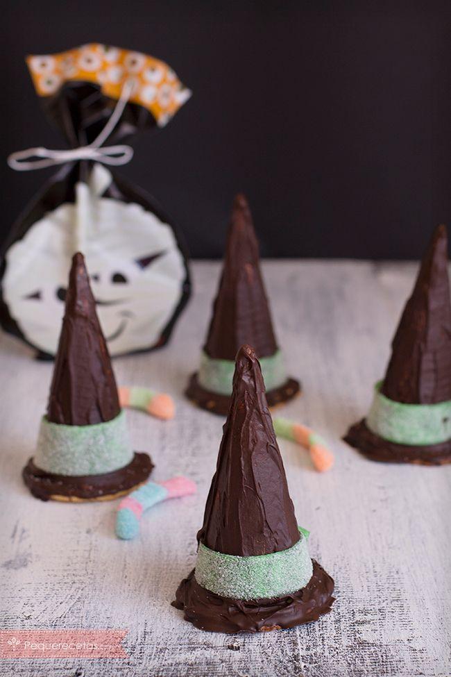 Recetas para Halloween: ¡Sombreros de bruja!