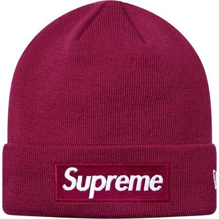 슈프림X뉴에라 콜라보! 박스로고비니 슈프림 스페셜 SALE! Supreme Supreme X New Era® Box Logo Beanie Fuchsia