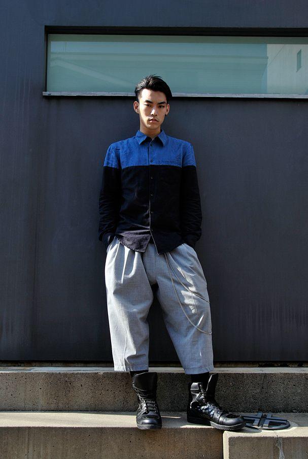 Area: Harajuku,Tokyo   原宿,東京 Name: Ryu Shirt: Gareth Pugh   ガレス ピュー Shoes: ALEX MATTSSON   アレックス マットソン Favorite shops: CANDY   キャンディ Favorite brands: D.TT.K   ディティーティーケー