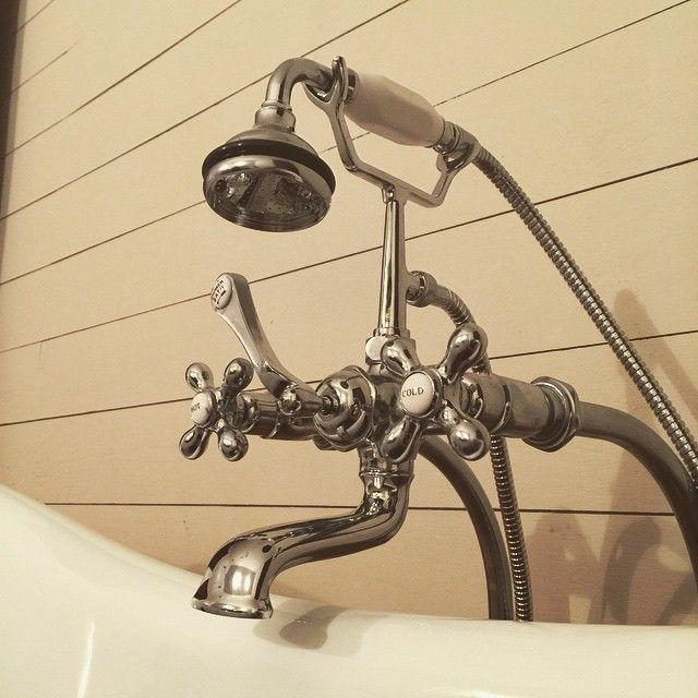 Here S A Closeup View Of A Randolph Morris Clawfoot Tub Faucet