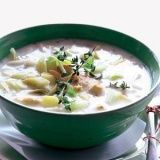 Boerenpreisoep met kip recept - Soep - Eten Gerechten - Recepten Vandaag