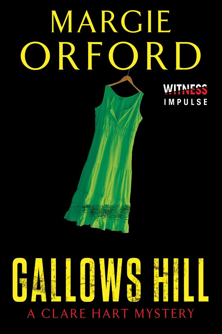 Gallows Hill (Dr. Clare Hart) by Margie Orford. Cape Town author.