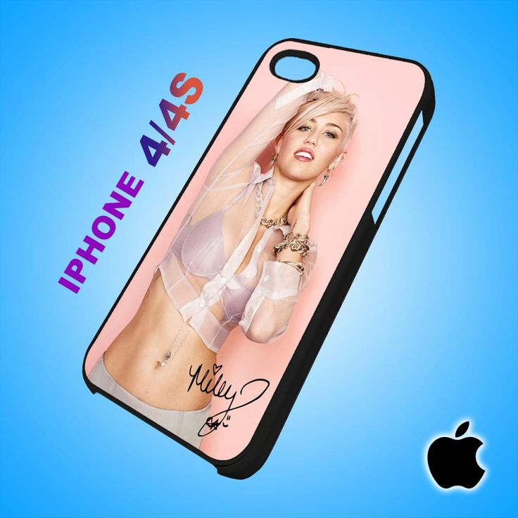 Sexy Miley Cyrus iPhone 4/4S Case Durable Plastic