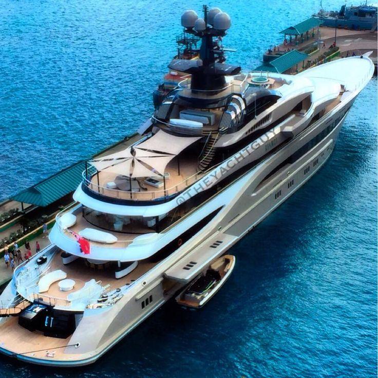 Las 25 mejores ideas sobre yates de lujo en pinterest for Lurssen yacht genova