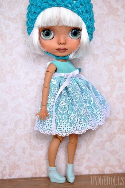Niesha (OOAK Custom Blythe art doll) by UNNIEDOLLS - customized blythe icy jeccy | eBay
