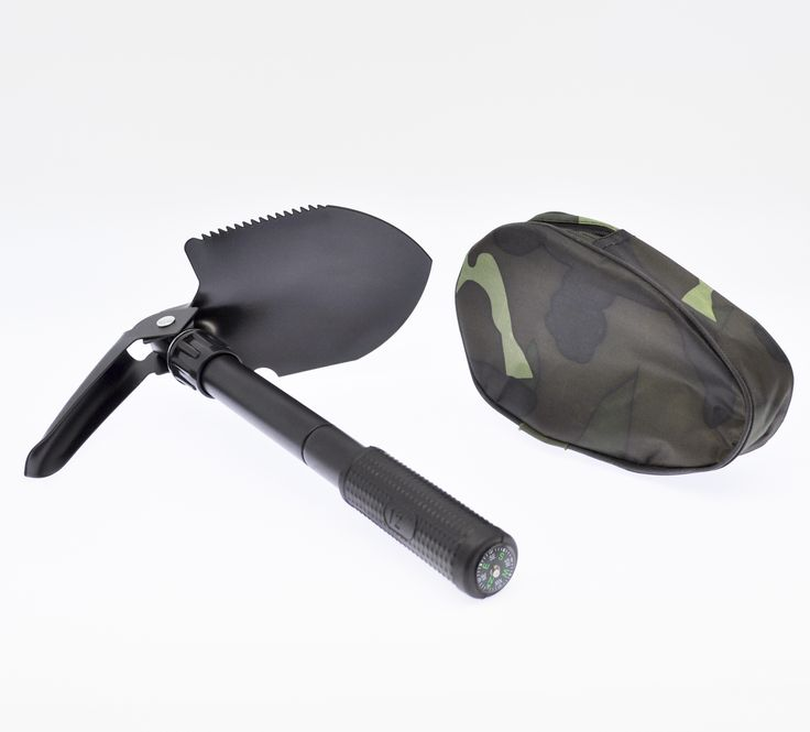 Survival Camping Shovel great gift for any outdoorsy person. Multiple tools in one, lightweight, space efficient package. Stocking stuffer for guys?