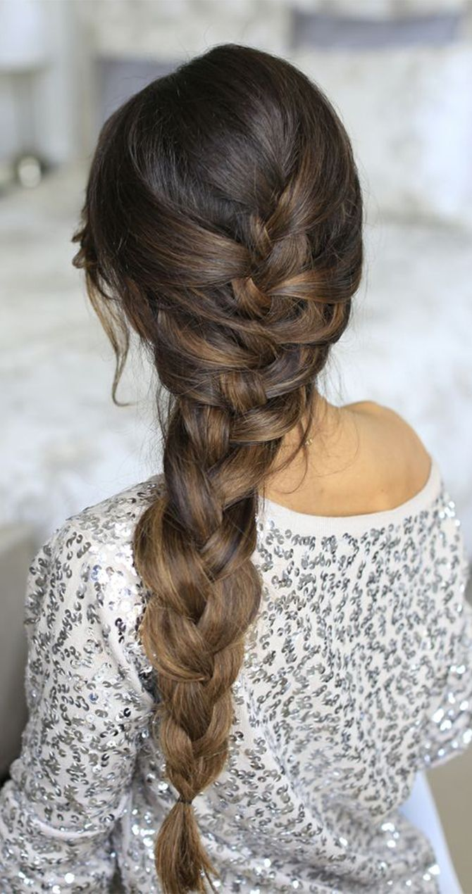 Pretty, easy braids you can wear today @luxyhair