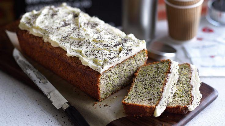 Ciasto cukiniowo-makowe