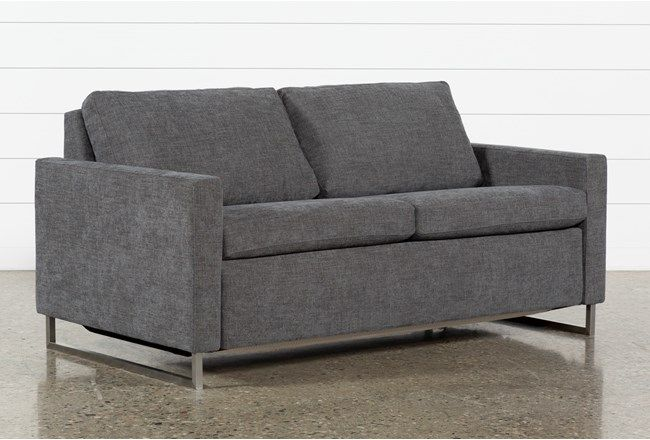 Branson Charcoal Queen Sofa Sleeper Loveseat Sofa Bed Cheap Sofas