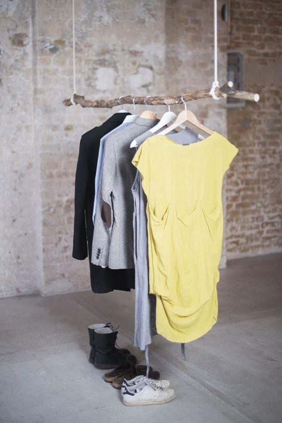 Simple Kleiderstange Walden