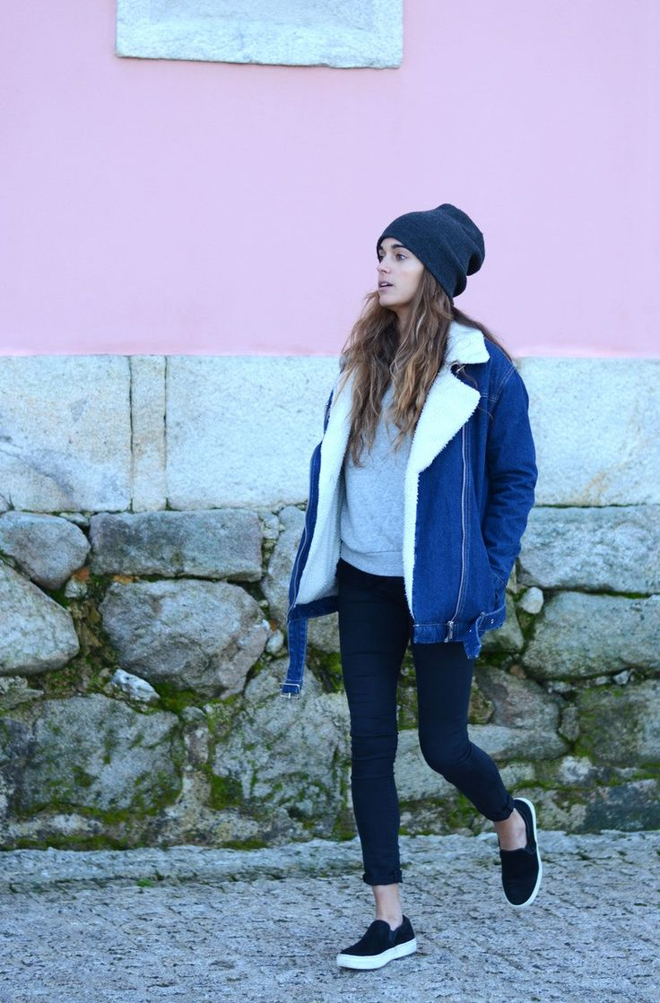 denim jacket for winter | stellawantstodie