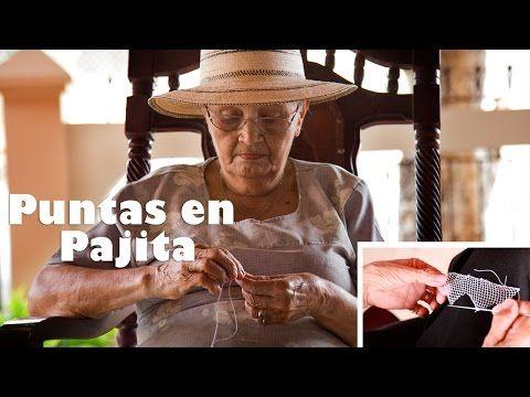 Cómo hacer las Puntas en el tejido en Pajita? - YouTube