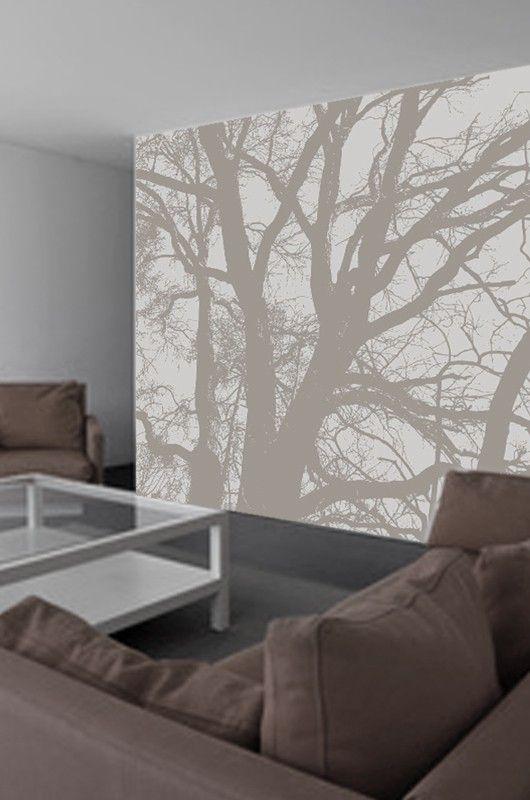 Papier peint arbre zen