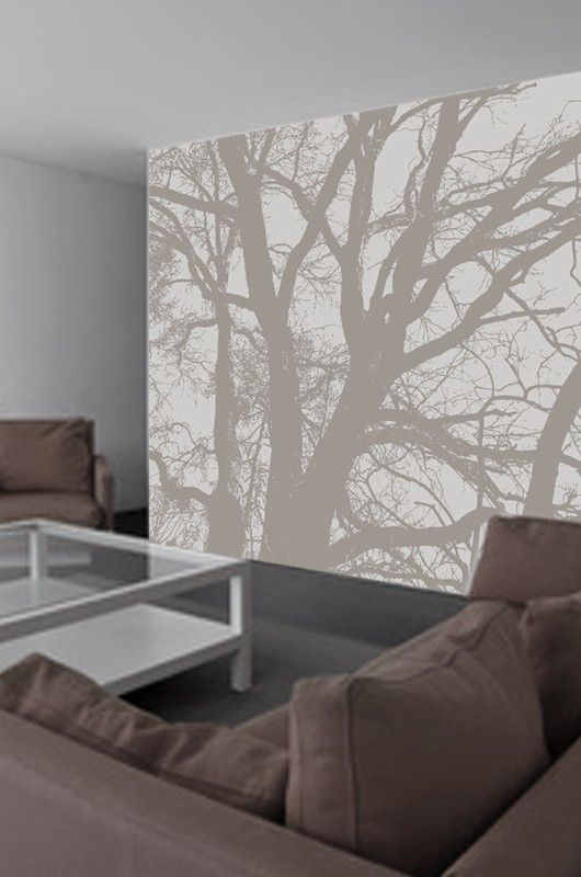 les 25 meilleures id es de la cat gorie papier peint arbre. Black Bedroom Furniture Sets. Home Design Ideas