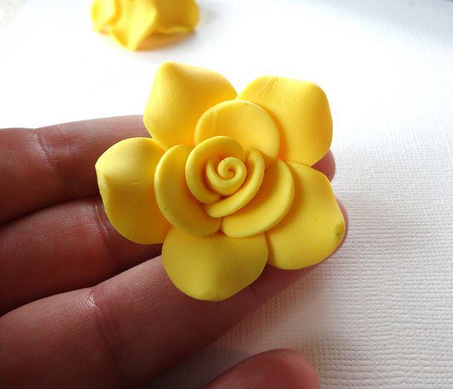 flower clay tutorial - photo #31