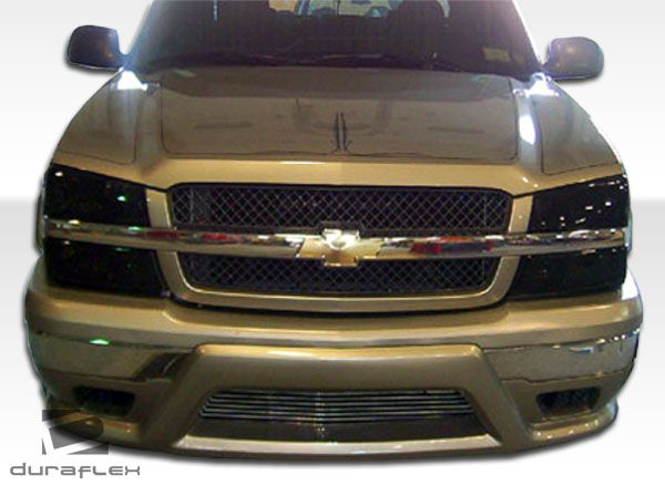 2003-2006 Chevy Silverado 2002-2006 Chevy Avalanche Duraflex Platinum Front Bumper Cover (w/o cladding) - 1PC