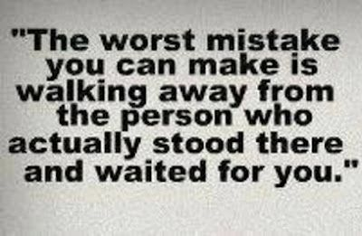 The worst mistake you can make