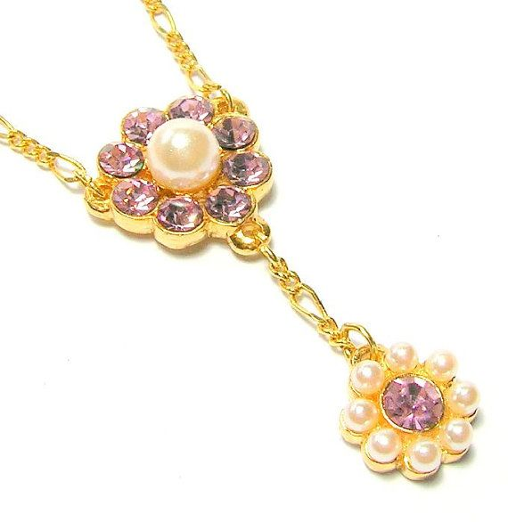 Vintage Butler & Wilson Signed Necklace  Light by SwankyJewels - 44 euro
