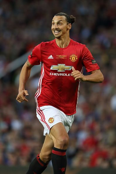 Zlatan Ibrahimovic of Manchester United during the Wayne Rooney Testimonial…