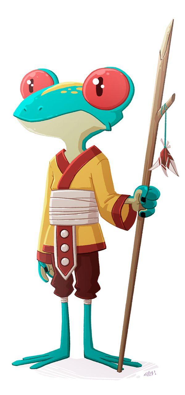 Character Design By 100 Illustrators Pdf : Best frog illustration ideas on pinterest scientific