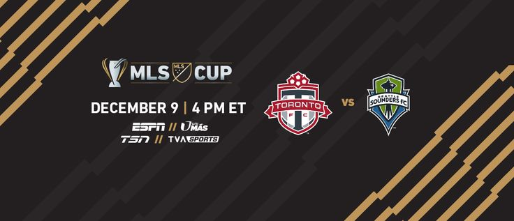 #MLS  2017 MLS Cup sees a rematch with Seattle Sounders at Toronto FC