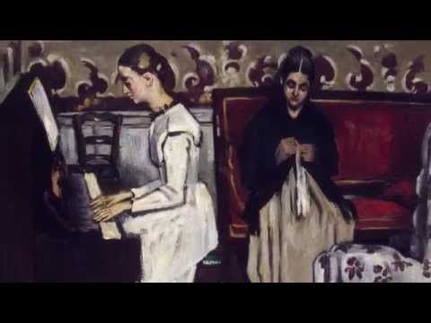 Девушка у пианино. Увертюра к «Тангейзеру». Поль Сезанн
