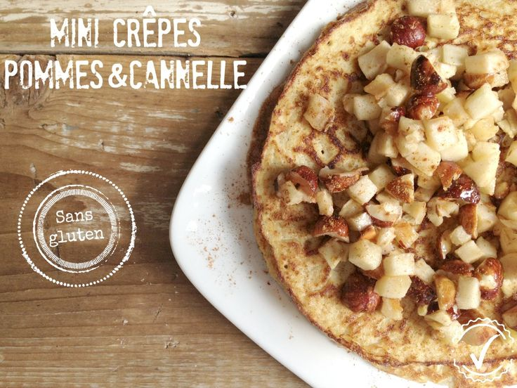 Mini crêpes pommes & cannelle sans produits céréaliers et 21 day fix
