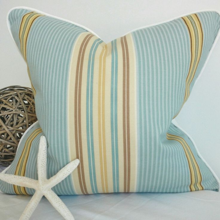 New Nautical pillow cover