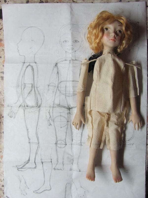 Будуарная кукла - вместе с Оксаной Муратовой - Ярмарка Мастеров - ручная работа, handmade