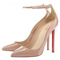 Cheap Christian Louboutin Halte 120 Pointed Toe Pumps Patent Nude, Louboutins Shoes Outlet Online Sale.
