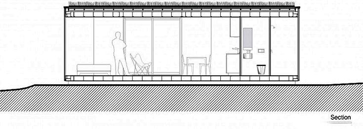План дома - вид сбоку