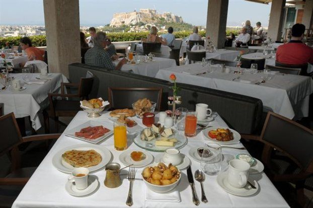 Eurocert Sticker to Certify Hotels Serving Greek Breakfast.