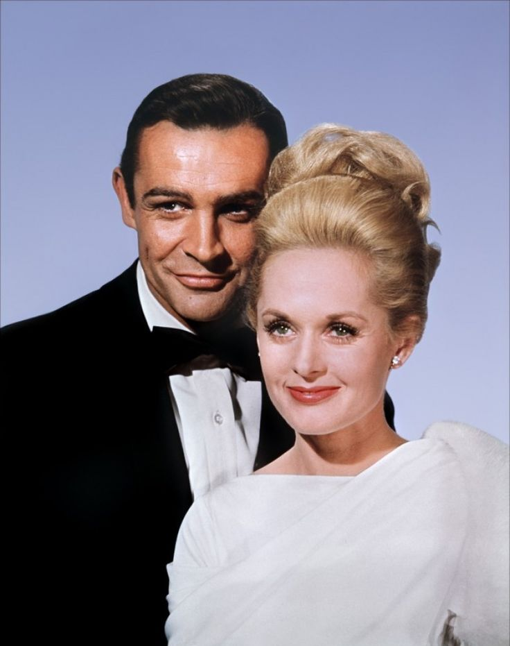 """Sean Connery and Tippi Hedren - """"Marnie"""""""