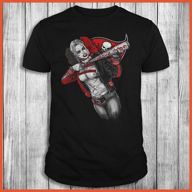 Tampa Bay Buccaneers Harley Quinn T-Shirt
